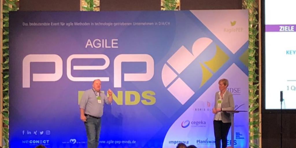 Agile PEP Minds 2019: OKR und agile Methoden