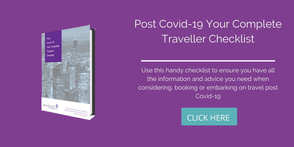 Post Covid 19 your complete Traveller Checklist