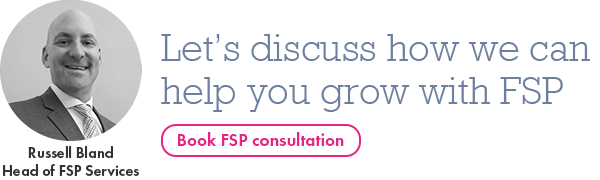 Book FSP consultation with Russell Bland