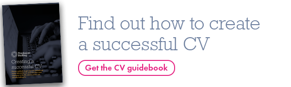 Download our CV guidebook