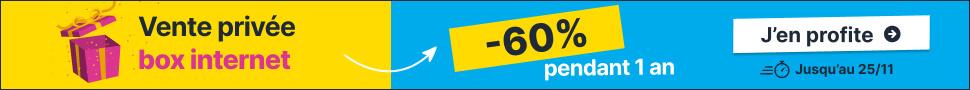 vente privée box internet -55%