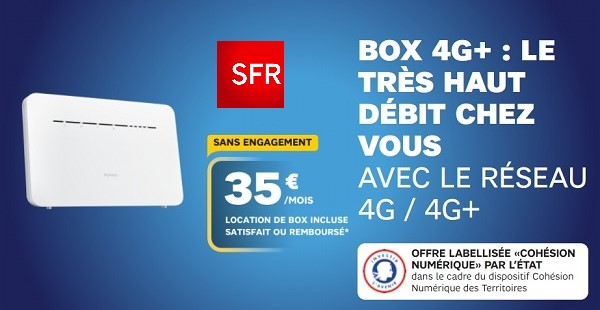 La téléphonie avec la box 4G SFR