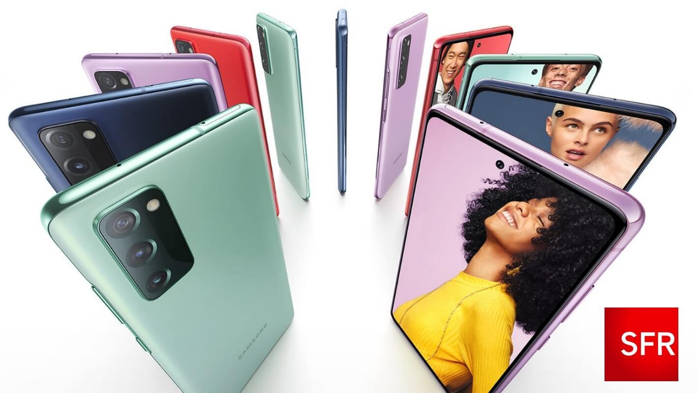 Promo Samsung S20 FE 5G : dès 59€ chez SFR, avec un forfait 5G ou 4G+