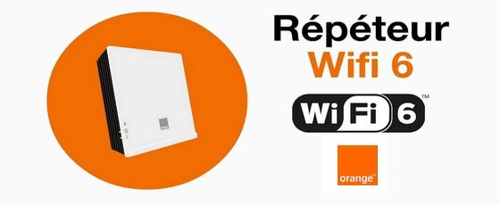 Le répéteur Wi-Fi 6 inclus avec la Livebox Up d'Orange
