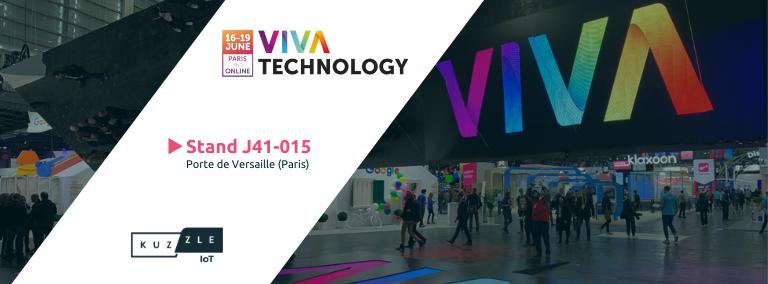 Rencontrez la Kuzzle team à Viva Technology Paris 2021