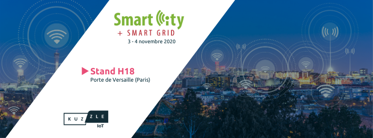 Rencontrez la Kuzzle team au salon Smart City + Smart Grid 2020