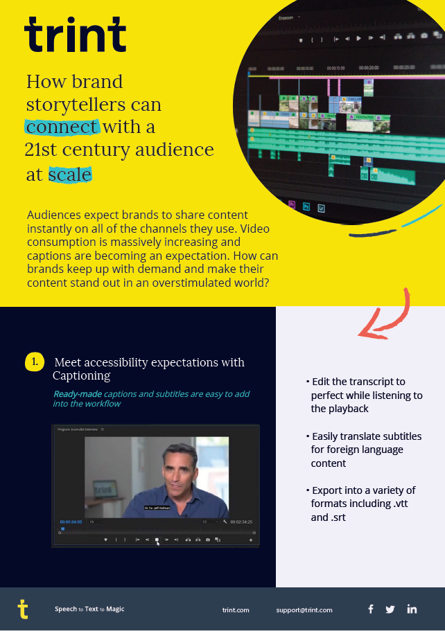 How brand storytellers can connect with a 21st century audience at scale