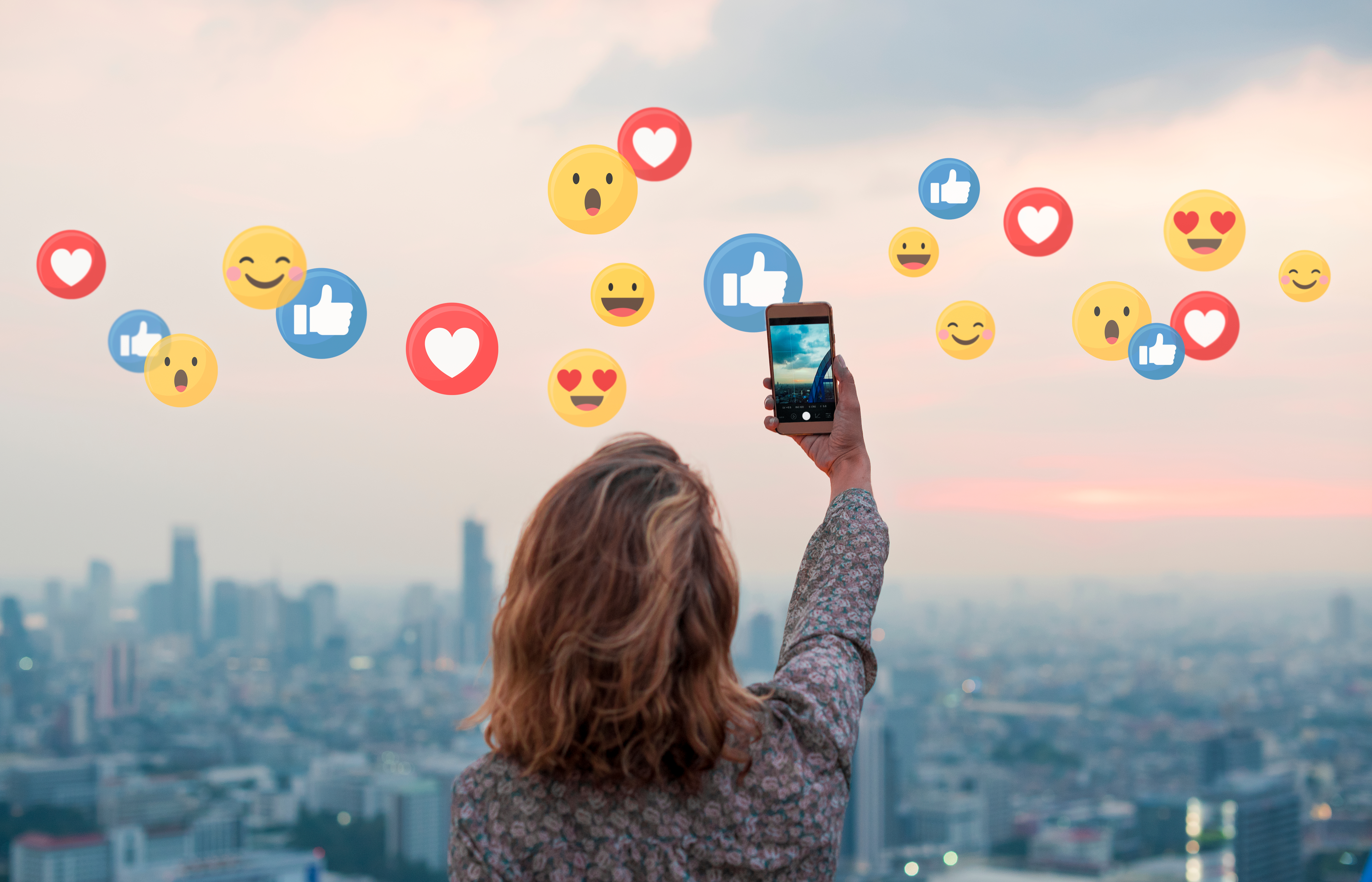 Develop and nurture your online presence with social media