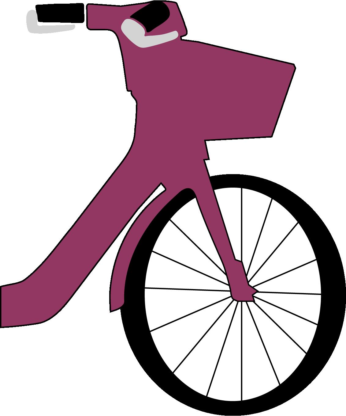 a bikeshare bike representing a bike-to-work event