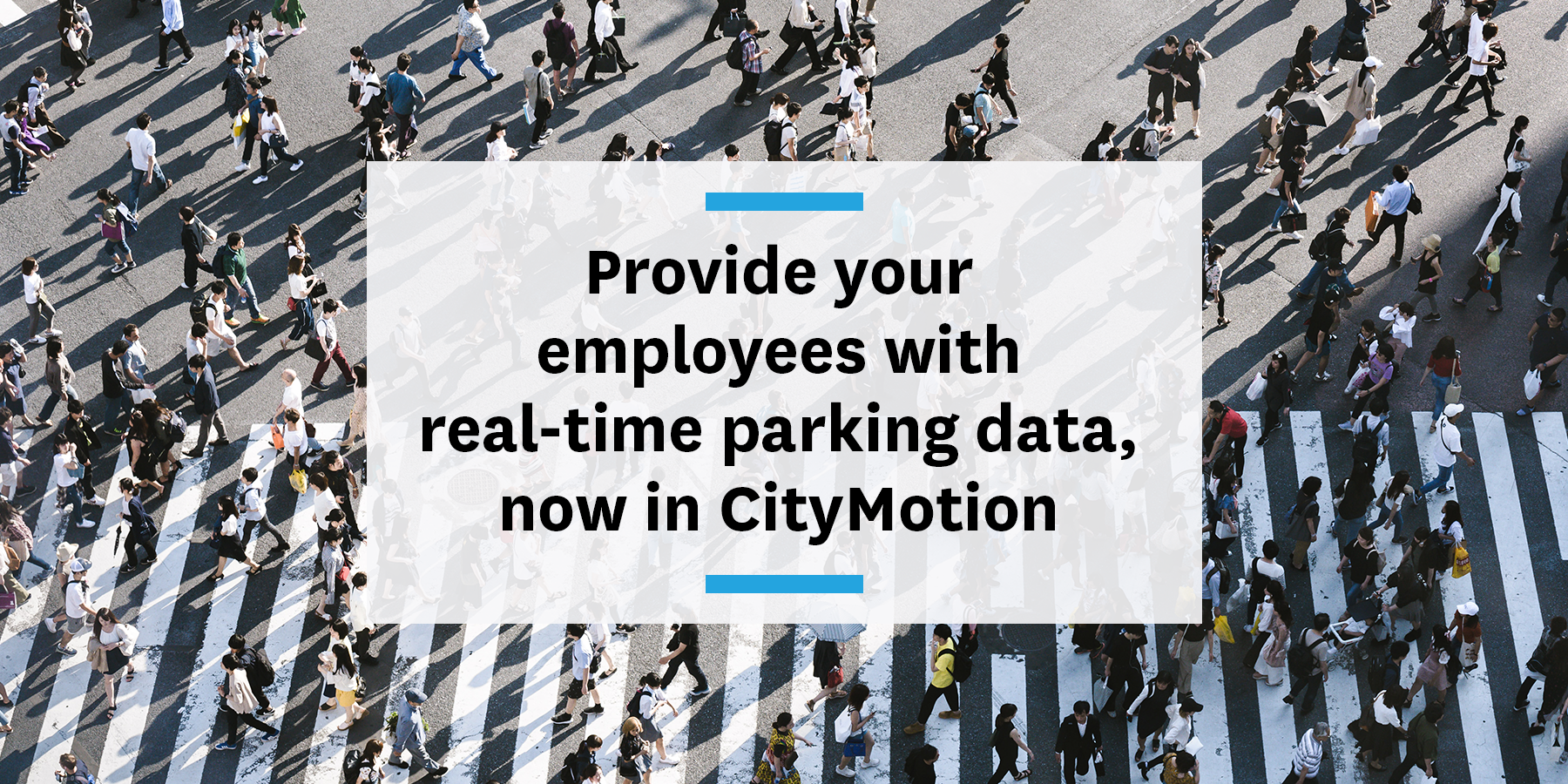 Real-time parking information in CityMotion