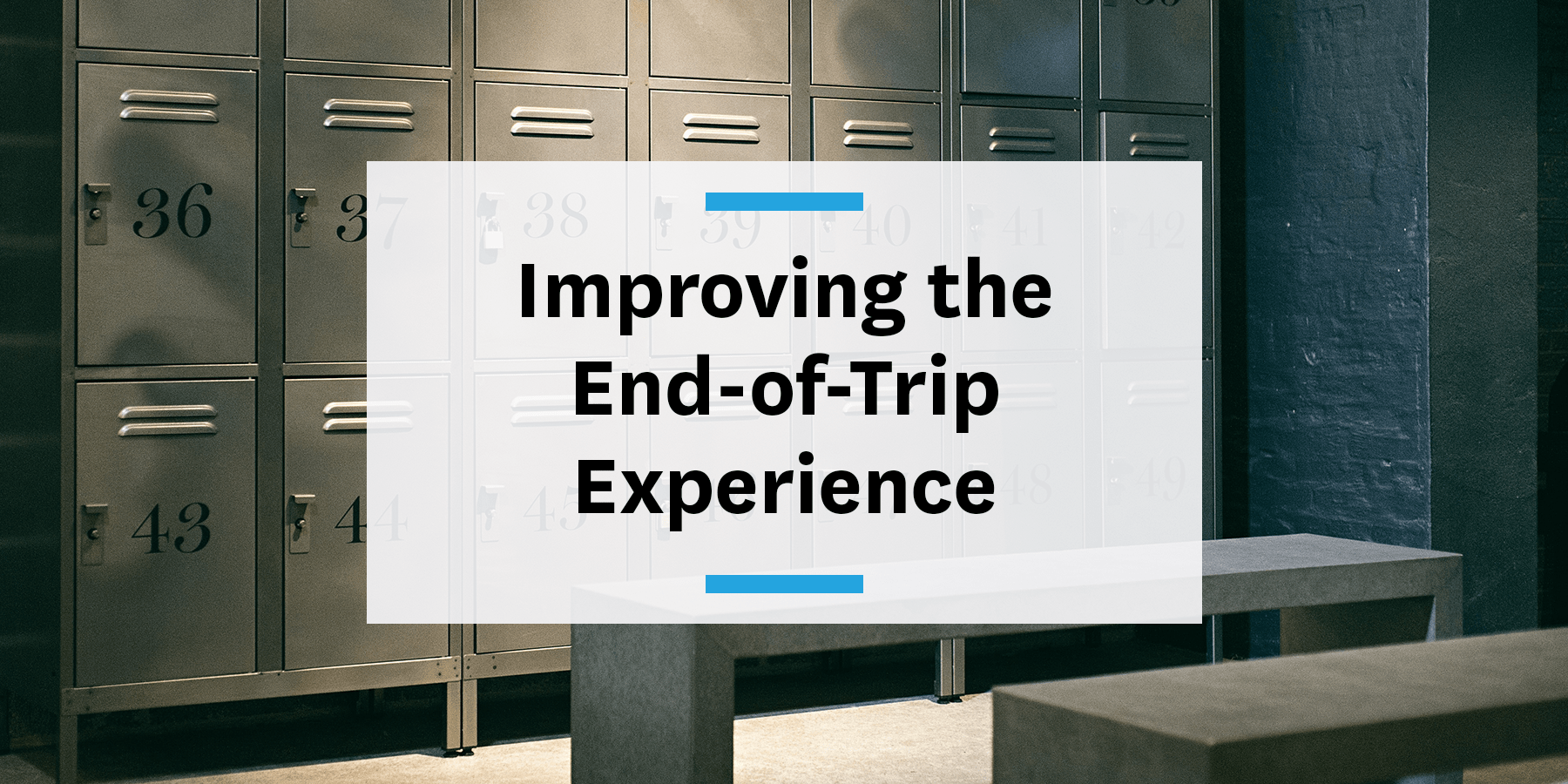 why employers need to improve the end-of-trip employee experience