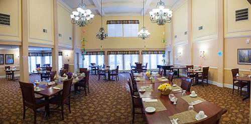 Care Suites Edina Large Dining Room