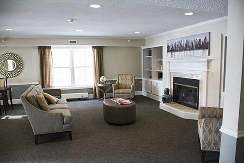 Care Suites Edina Living Room