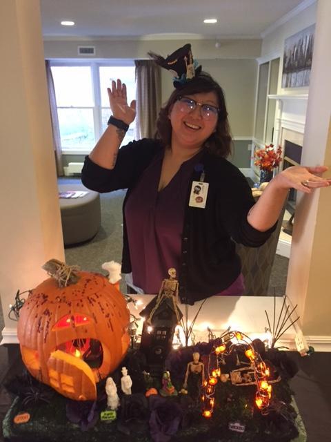 Care Suites Staff on Halloween