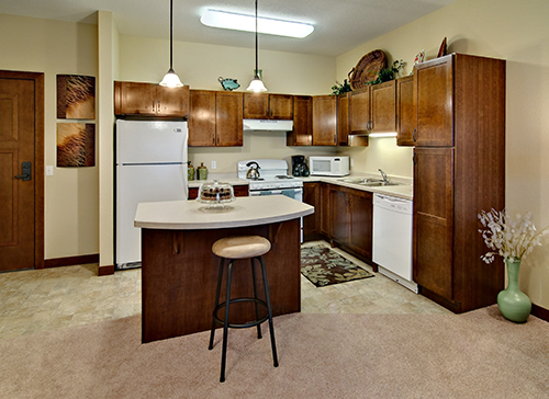 Highview Hills Model Apt Kitchen
