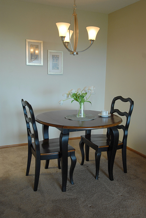 Place Model Apartment Dining