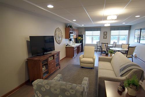 Care suite lounge