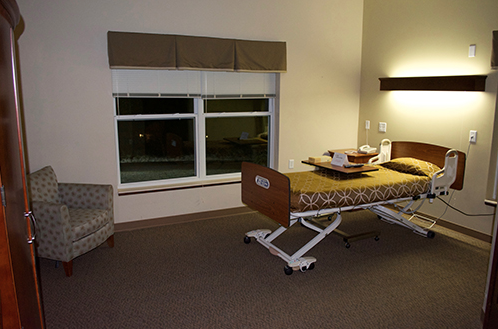 Westwood Ridge residence room