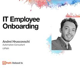 It employee onboarding webinar