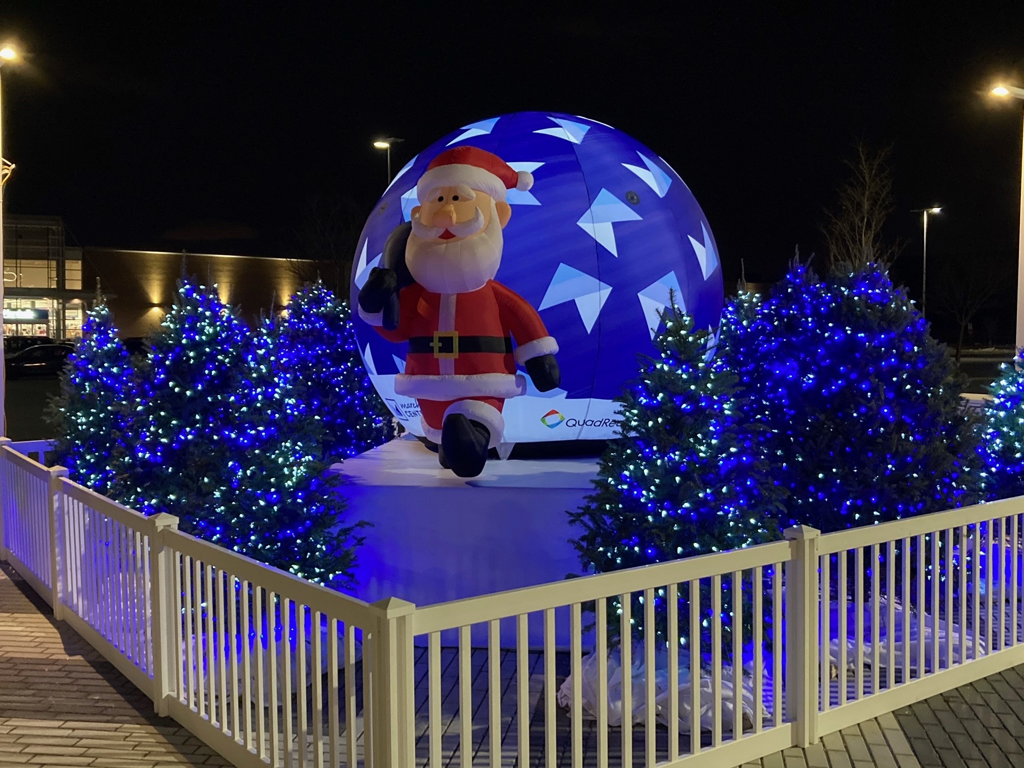 Custom Giant Inflatable Santa