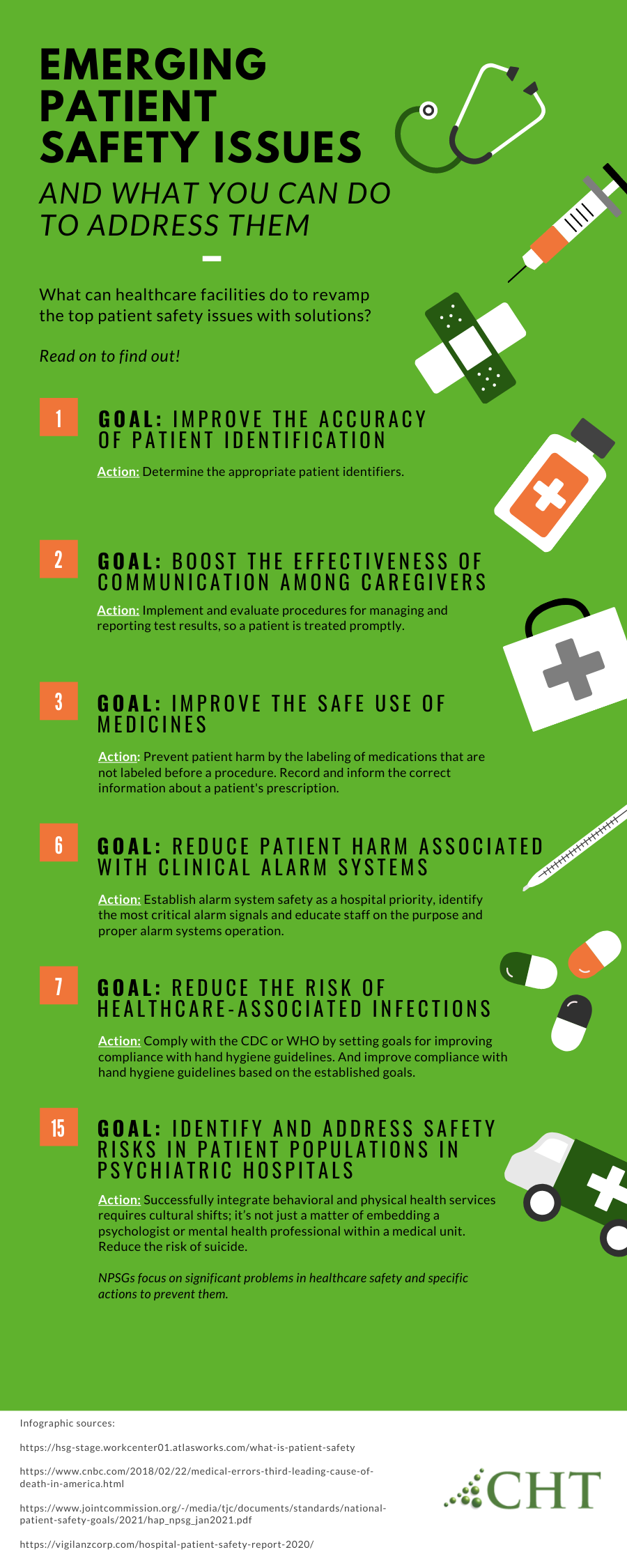 Emerging Patient Safety Issues and What You Can Do To Address Them