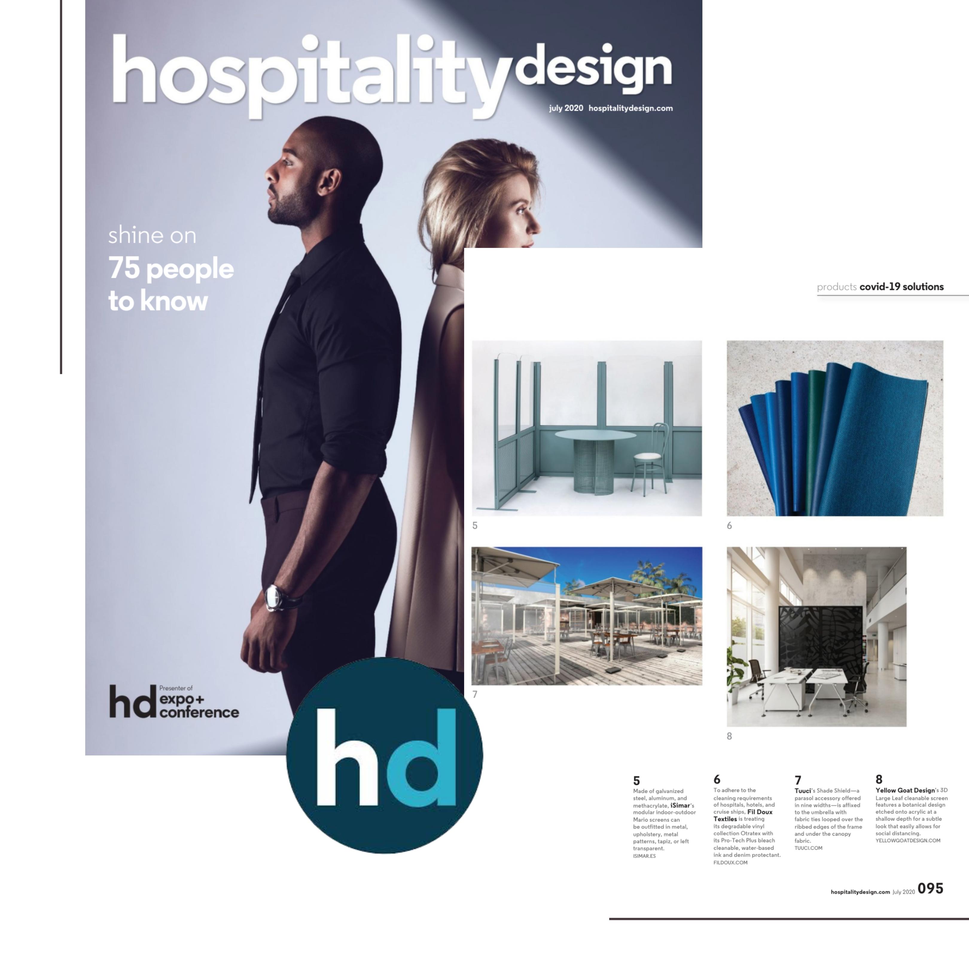3D Large Leaf in Hospitality Design