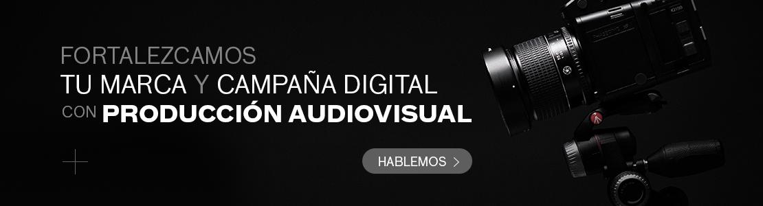 CTA contacto esencia marca producción audiovisual