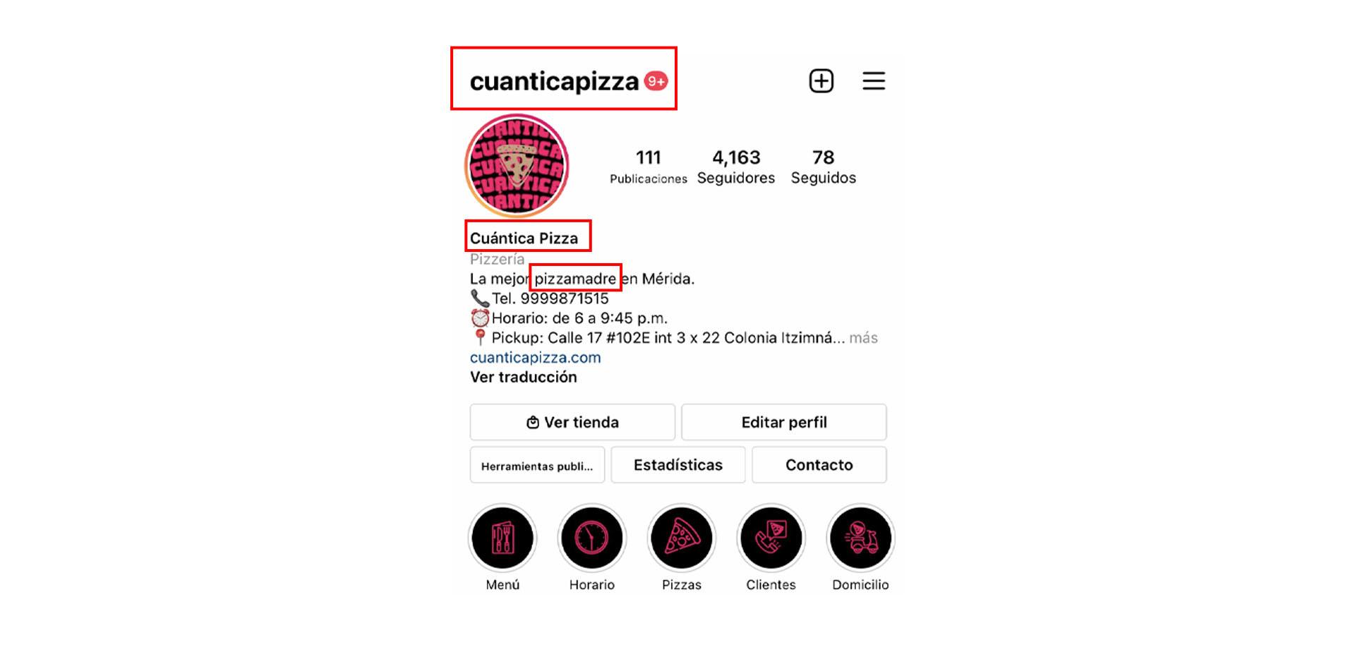 optimiza tu perfil en Instagram
