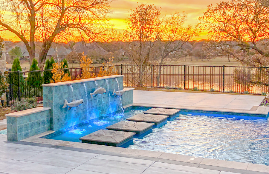Inground Rectangle Pools 10 Design Ideas To Add Style Flair With Photos