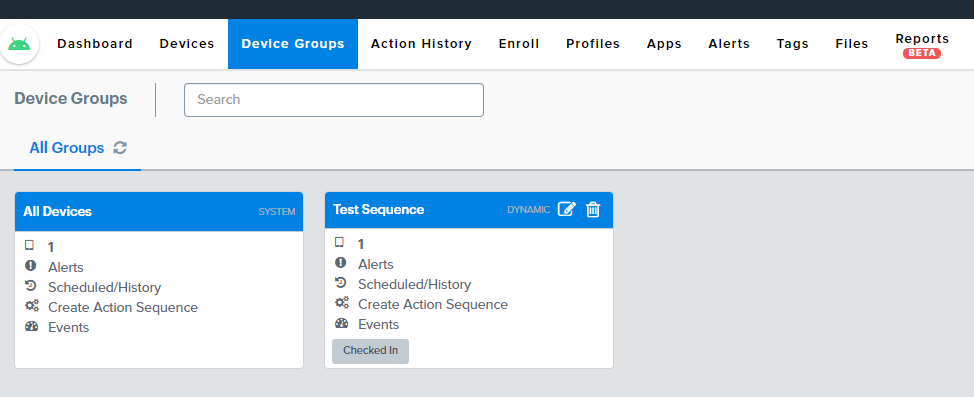 Alerts Device Groups