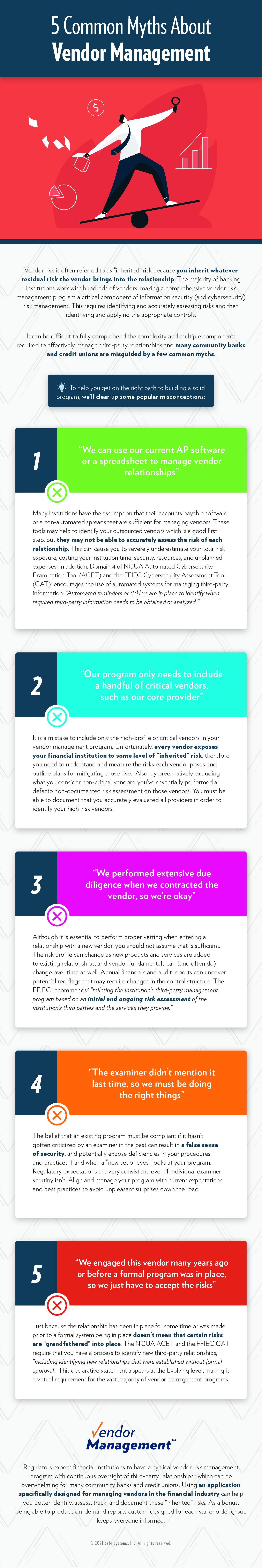 Common Myths About Vendor Management