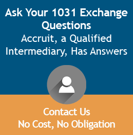 Ask your 1031 exchange questions