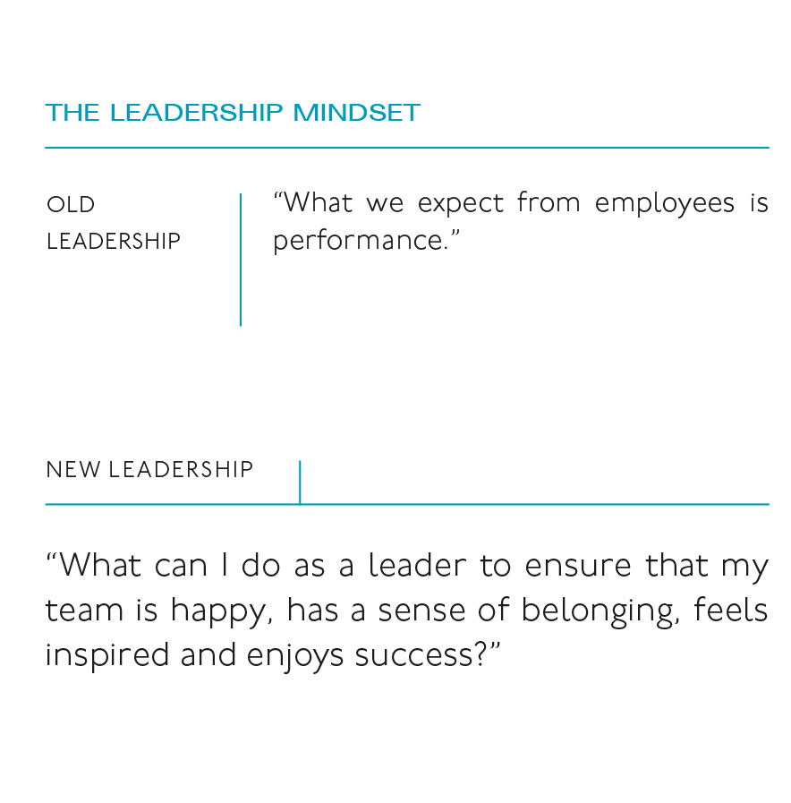 A new leadership mindset