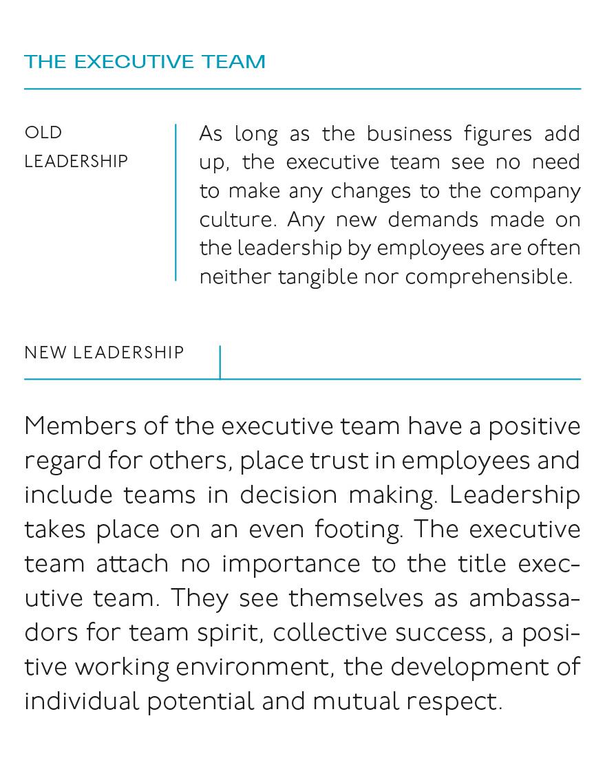 The executive team of the future