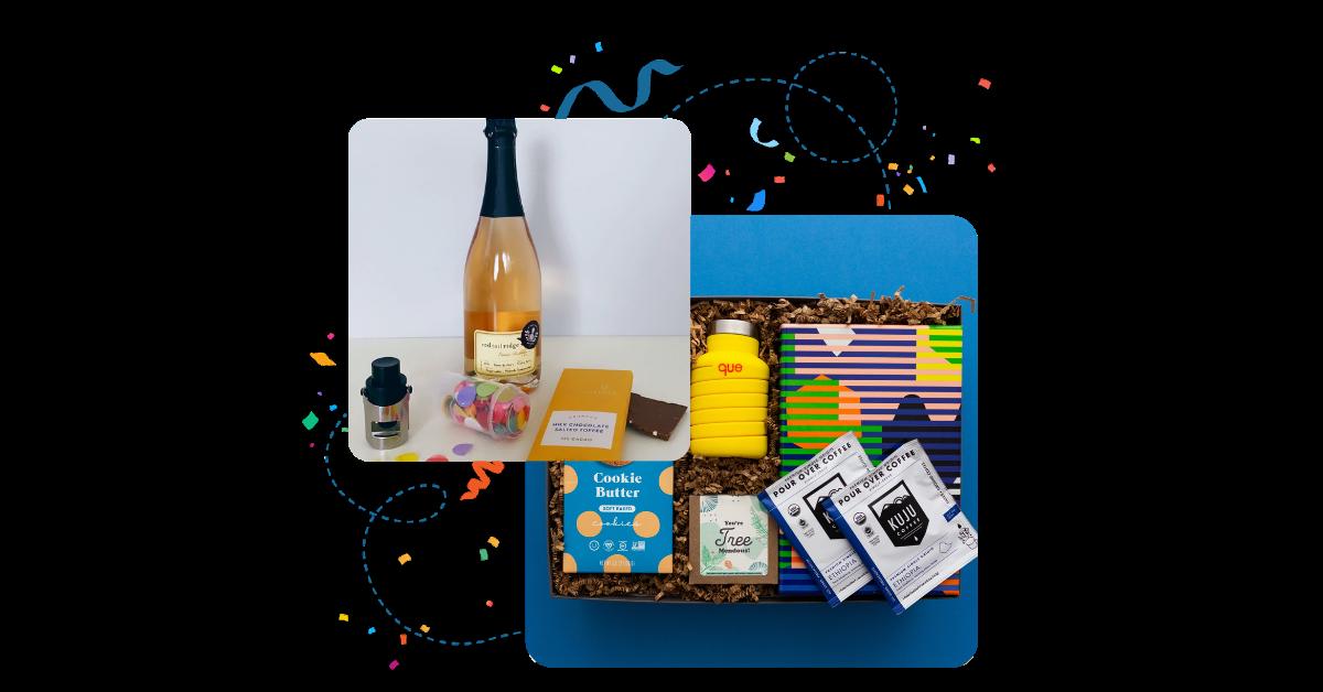 gift idea to celebrate company news