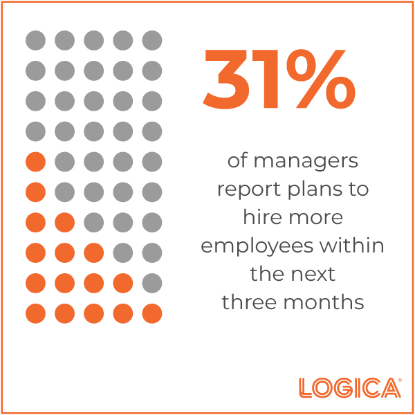Managers Plan to Rehire Employees