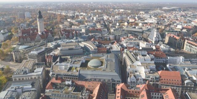 Für die Stadt Leipzig wird ein Plus von 12,0% für die Immobilienpreise bis 2023 erwartet