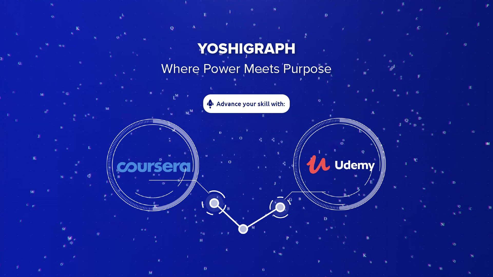 Picture of YoshiGraph the recommendation engine.