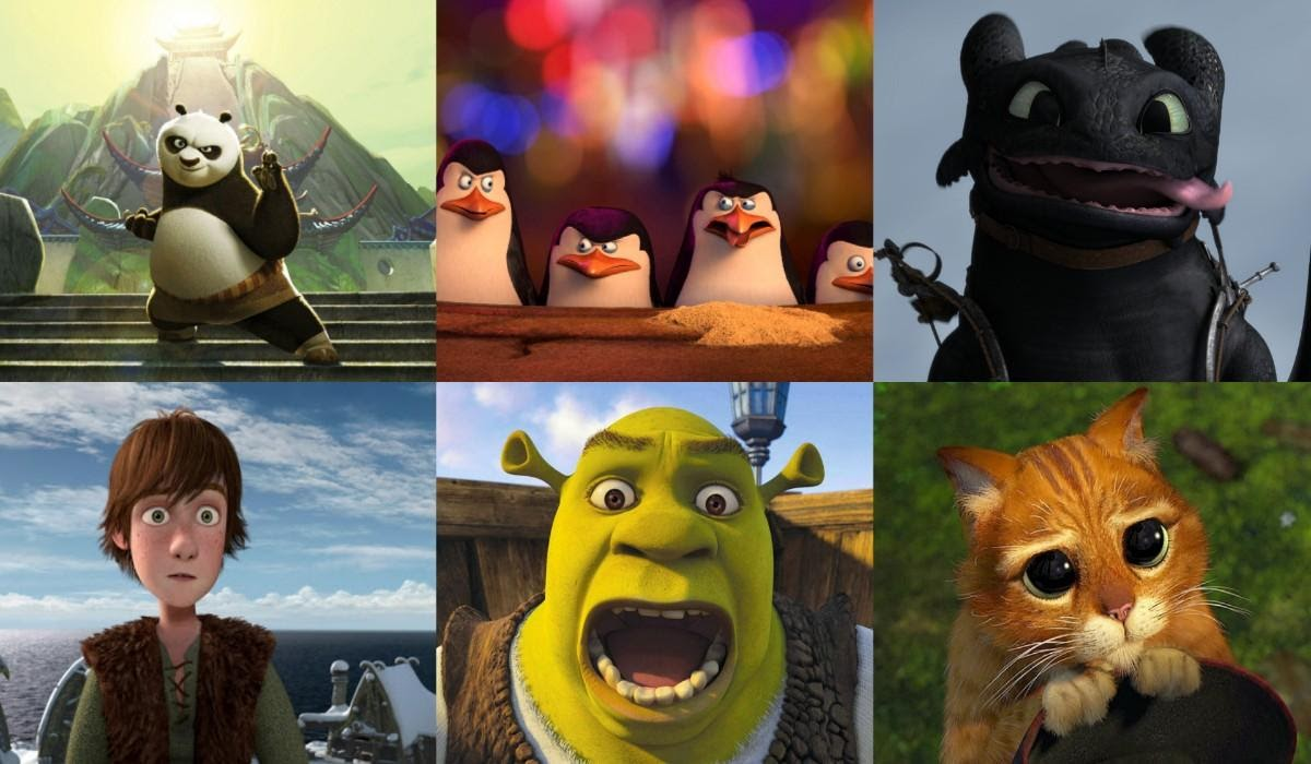 Funniest Dreamworks characters