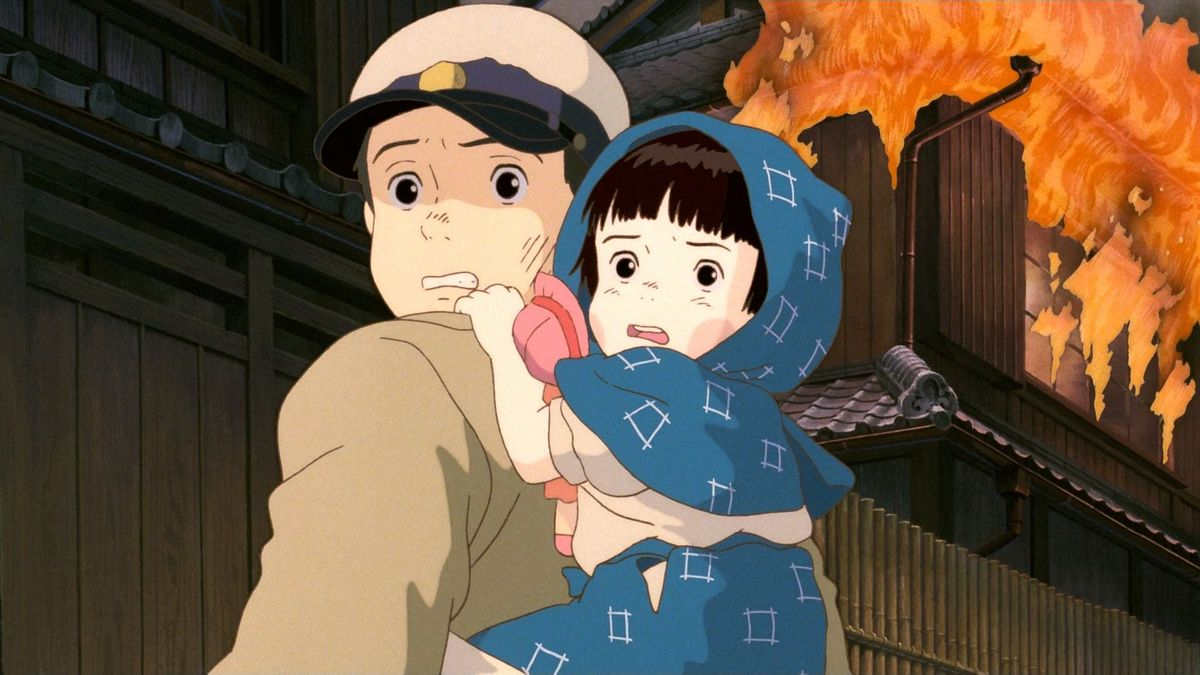 Grave of the Fireflies anime film about war