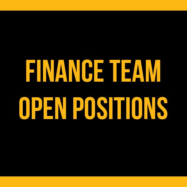 Finance Open Positions