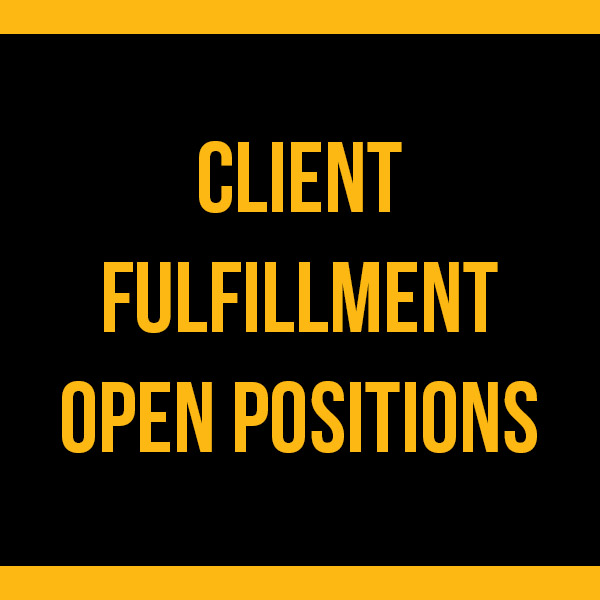 Fulfillments Open Positions