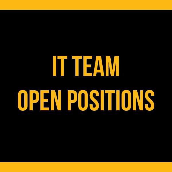 IT Open Positions