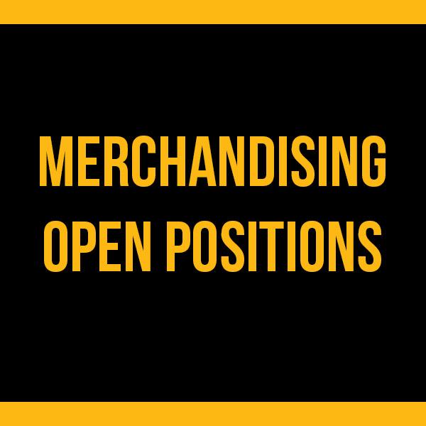 Merchandising Open Positions