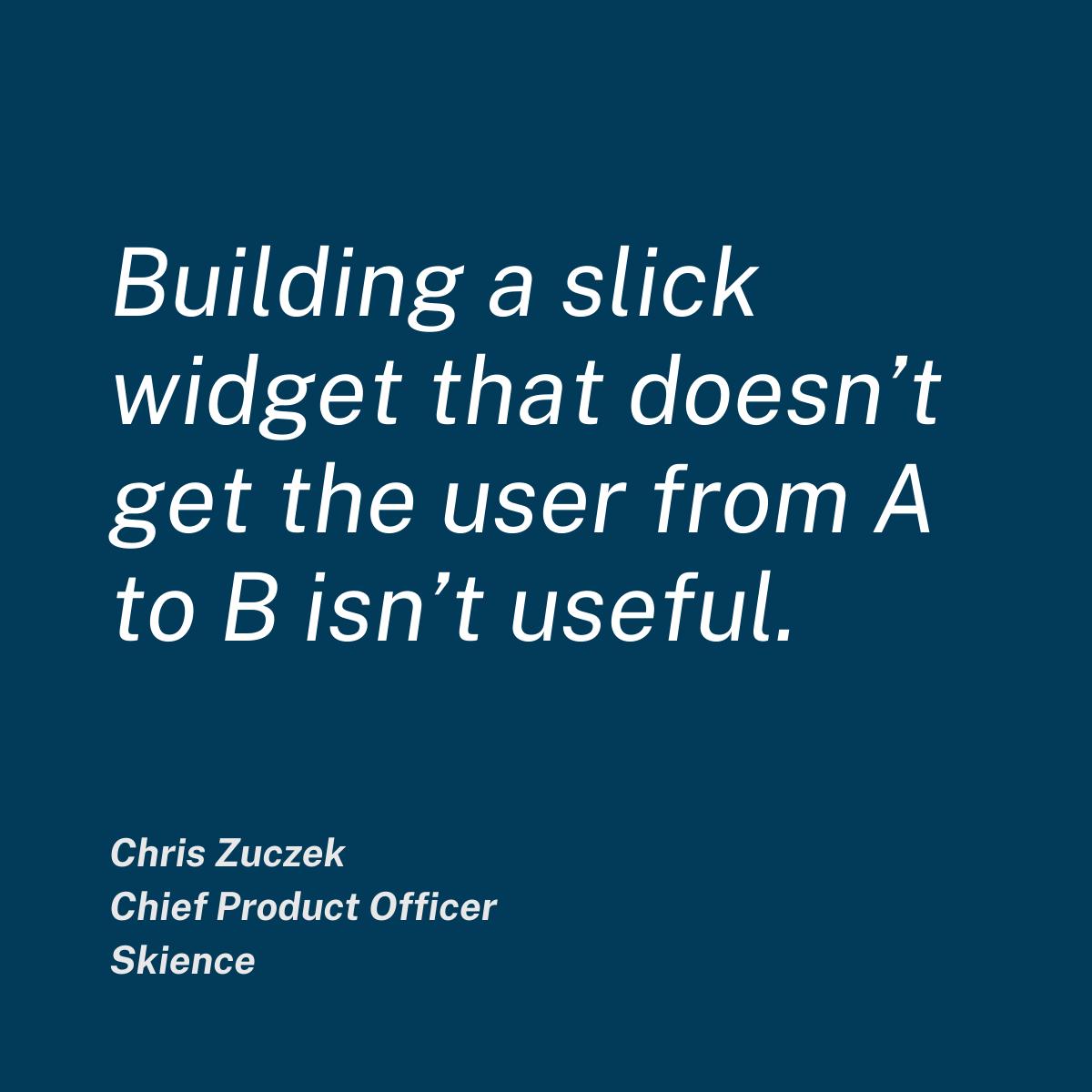 Chris Zuczek quote