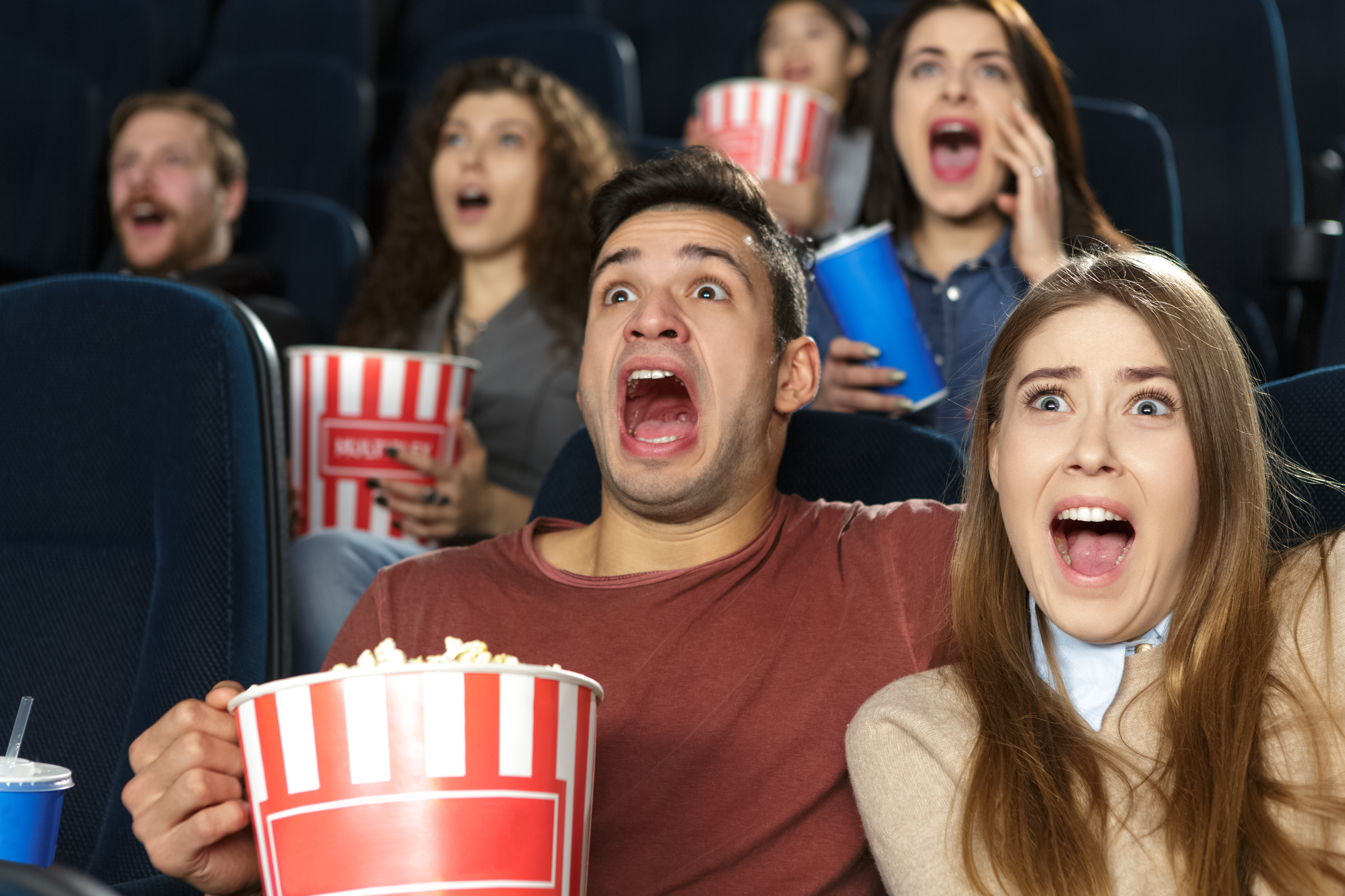 scared movie audience
