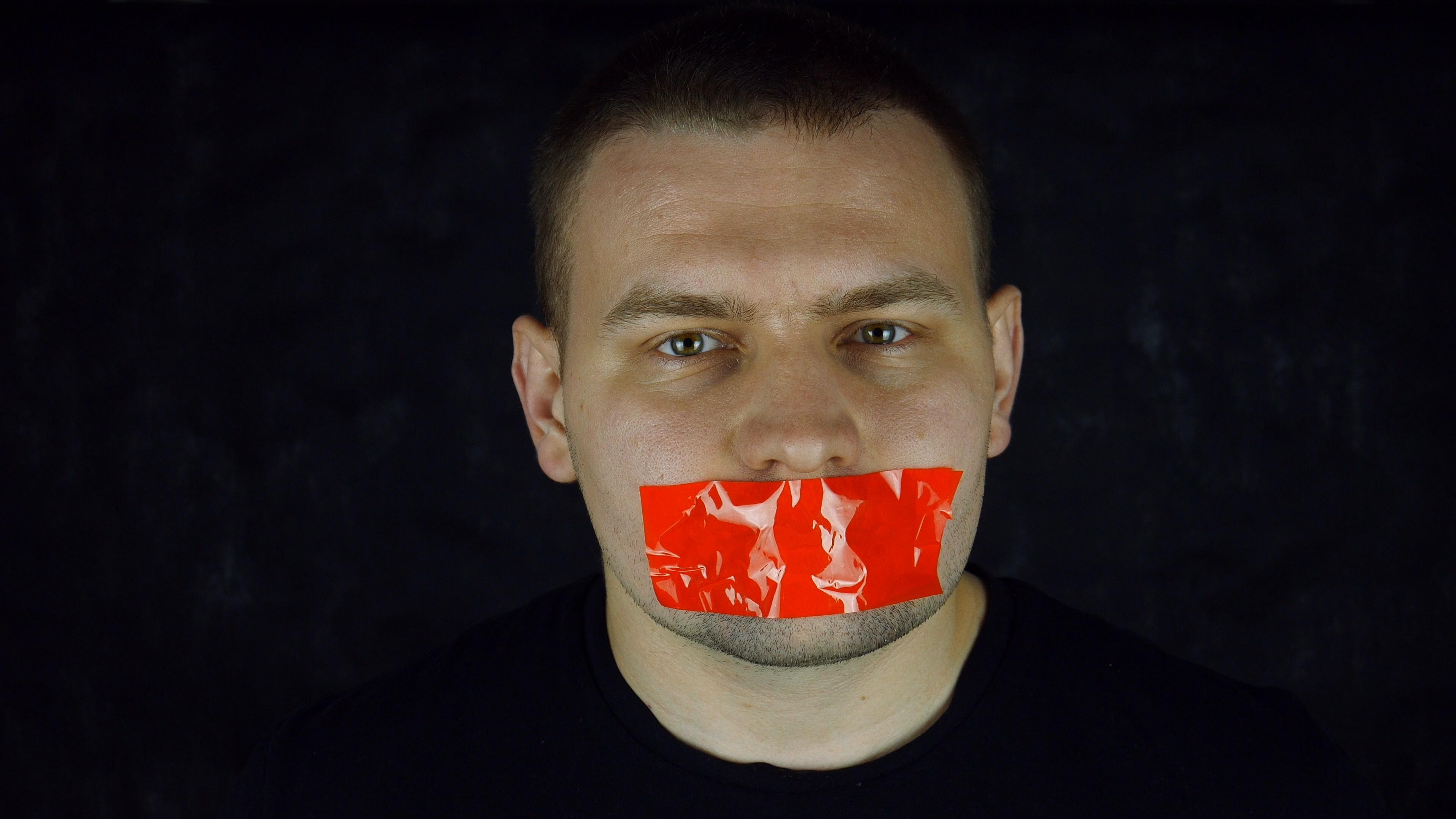 man mouth tape