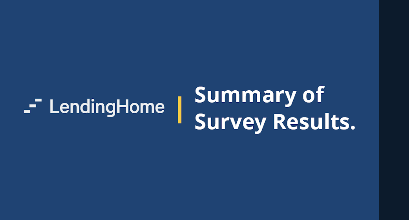 LendingHome Survey Results: Our Customers are Moving Forward